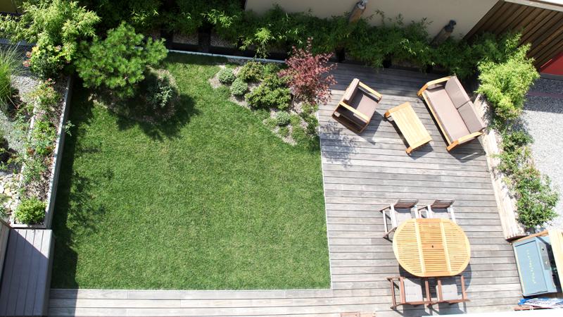 Un jardin sur le toit, Bienne