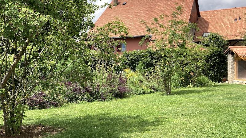 Le jardin du Borget